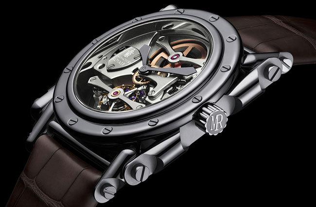 Androgyne Manufacture Royale acier PVD noir