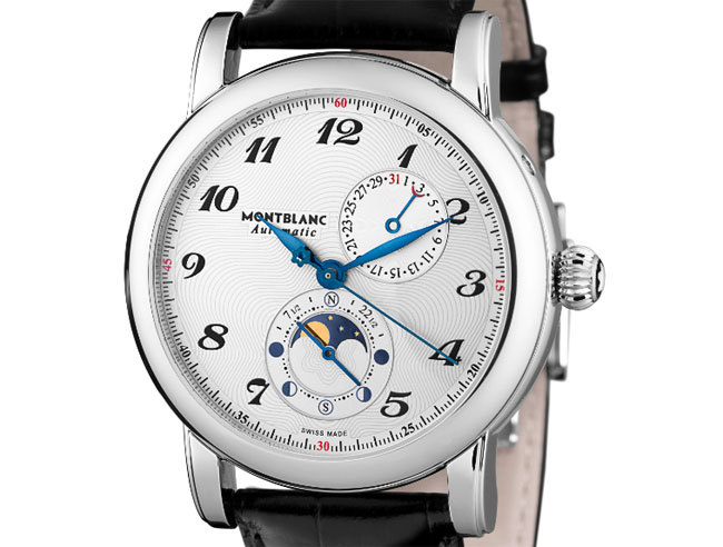 Montblanc Star Twin Moonphase : phase de lune du nord au sud