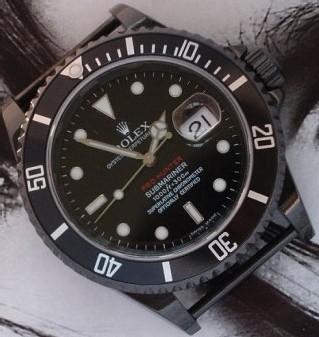 La société londonienne BJSonline.com propose des Rolex customisées...