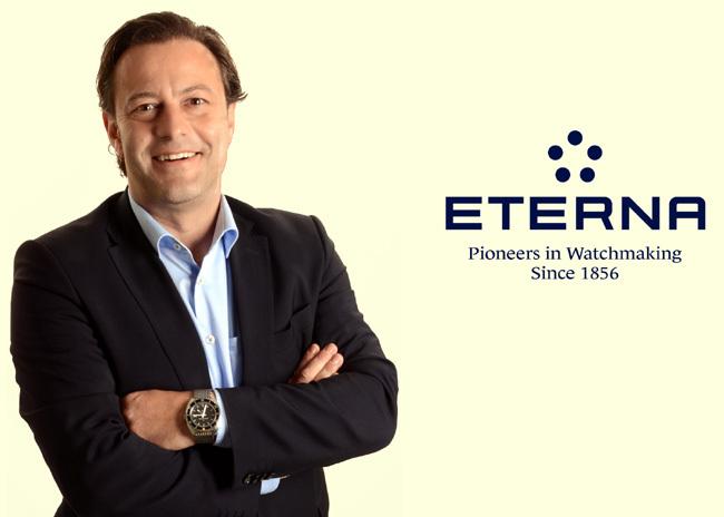 Bruno Jufer : nommé vice-président marketing/vente d'Eterna