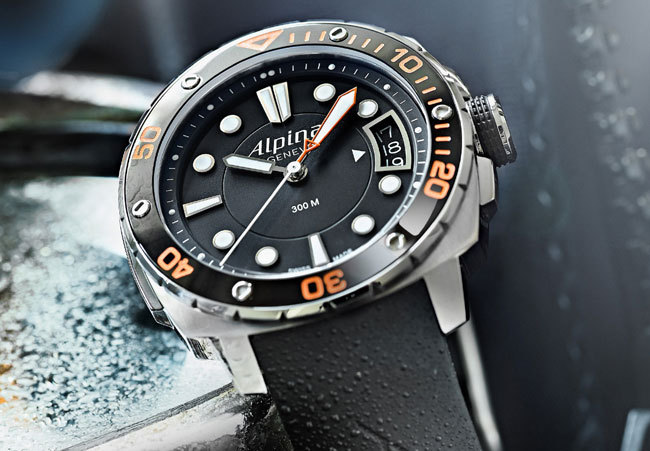 Alpina Extrême Diver Orange 300 Midsize :