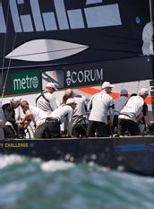 Corum : Chronométreur Officiel de Victory Challenge pour l'America's Cup