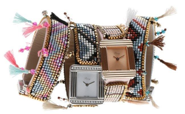 Ma Première de Poiray se pare d'un bracelet Hipanema