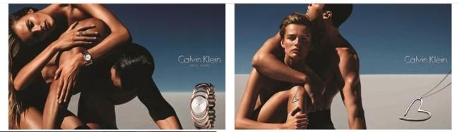 Calvin Klein : nouvelle campagne de communication « montres et bijoux »