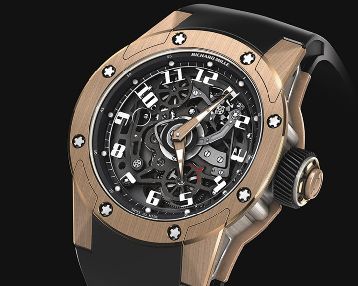 Richard Mille RM 63-01 Dizzy hands : mesure du temps et démesure