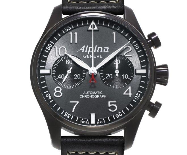 Alpina Startimer Pilot Chronographe Black Star