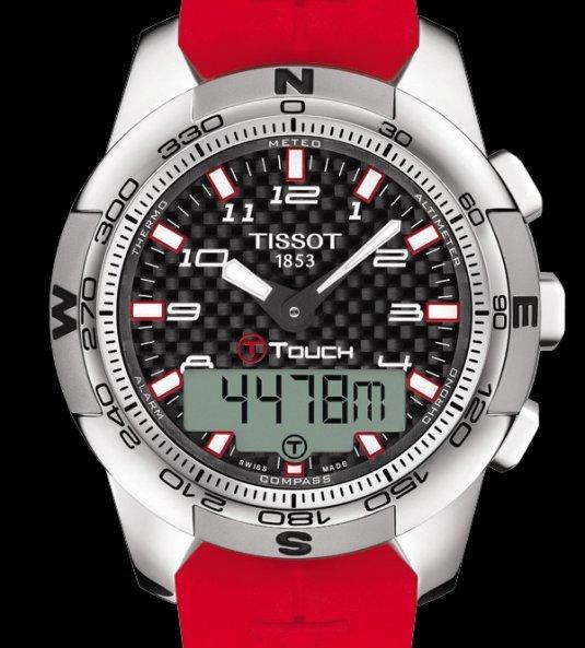 T-Touch II Titanium Édition spéciale RBS 6 Nations 2014 : la montre du tournoi