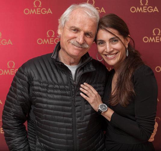 Yann Arthus-Bertrand et Caterina Murino
