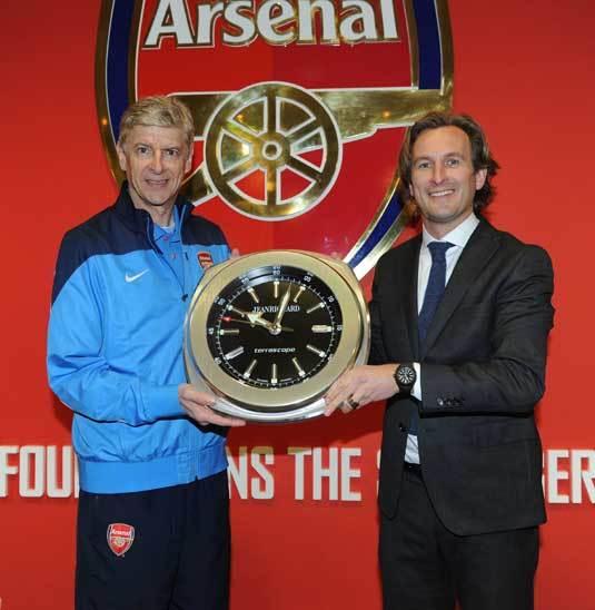 Jeanrichard : montre officielle d'Arsenal FC