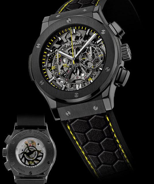 Hublot : ouverture d'une boutique à Rio de Janeiro et présente la montre Pelé !