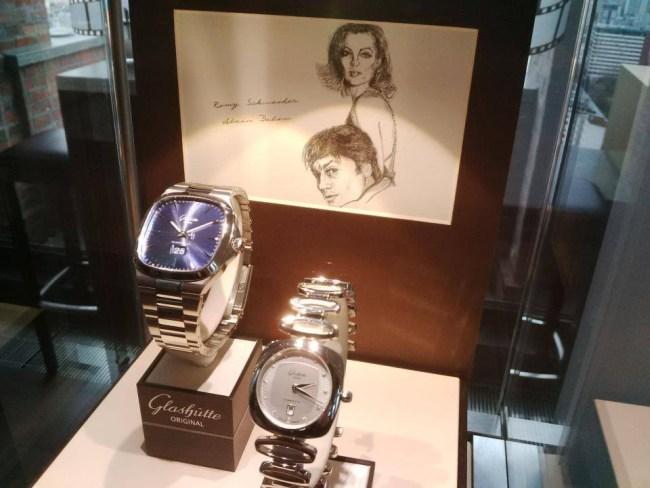 Glashutte Original : un homme et une femme à l'occasion de la 64ème Berlinale