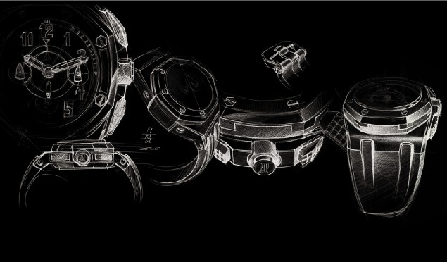 Chronographe « Flyback » Royal Oak Offshore Alinghi Team d'Audemars Piguet : la course a commencé