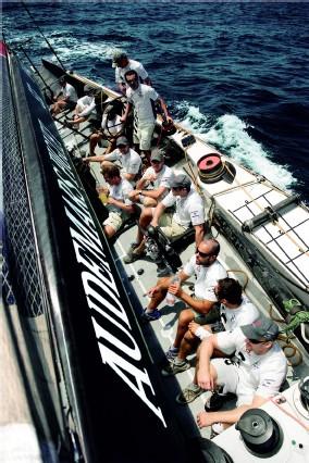 Chronographe « Flyback » Royal Oak Offshore Alinghi Team d'Audemars Piguet : la course a commencé
