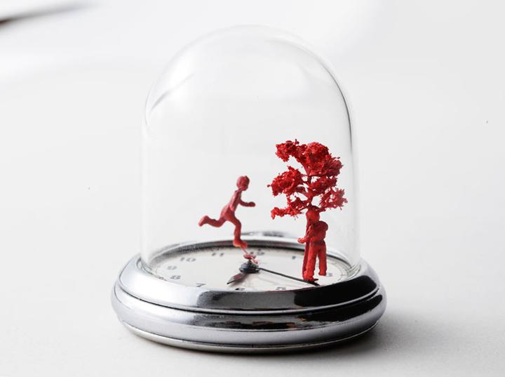 Les montres-sculptures de Dominic Wilcox