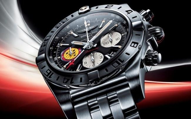 Breitling Chronomat 44 GMT 50e Anniversaire Patrouille Suisse