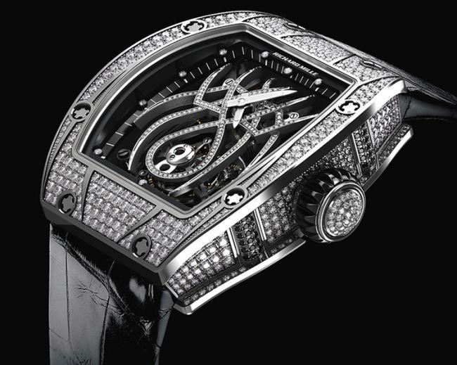 Richard Mille Tourbillon RM 19-01 Natalie Portman : Spiderwoman