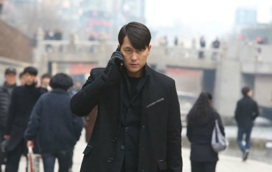 Cold Eyes : Jung Woo-Sung porte une Omega Seamaster