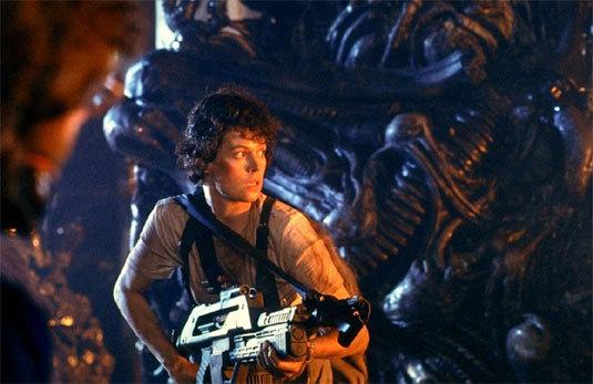 Alien, le retour, Sigourney Weaver, DR