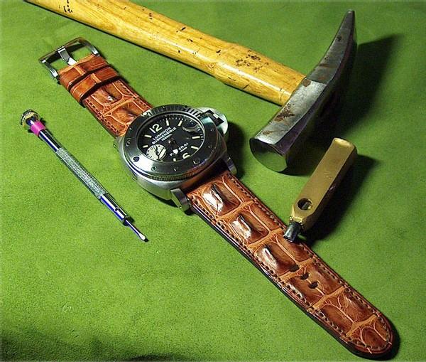 L'alligator et le croco corné : la chronique du bracelet-montre d'ABP