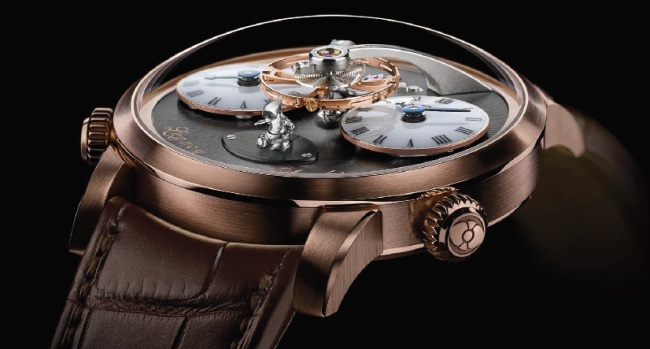 MB&F Legacy Machine N°1 Xia Hang : Mr. Up et Mr Down