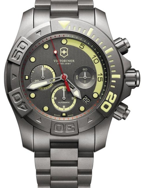 Victorinox Swiss Army Dive Master 500 en version titane
