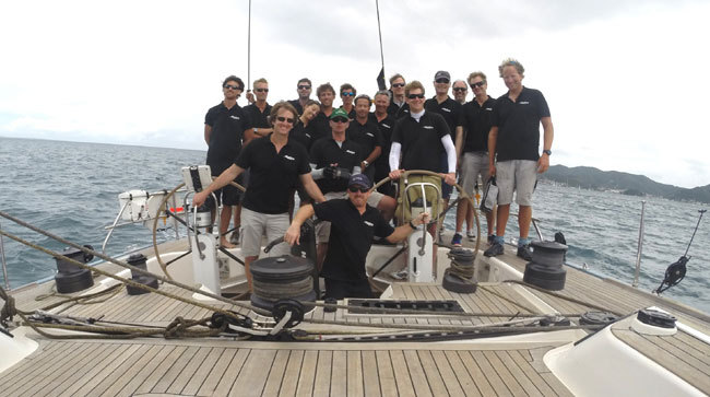 Alpina : le voilier Swan 82 Feet FD remporte la Heineken 2014 à Saint Martin