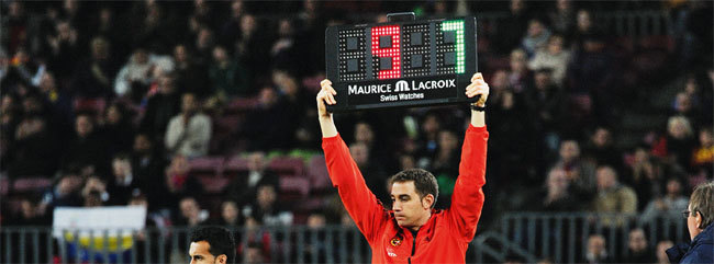 Maurice Lacroix : chronométreur et horloger officiel du FC Barcelona