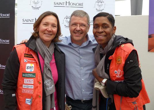 Saint Honoré au départ du Rallye Aïcha des Gazelles du Maroc