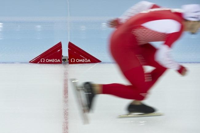 Omega Scan'O'Vision : du nouveau dans le chronométrage du patinage de vitesse