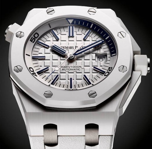 Royal Oak Offshore Diver céramique blanche