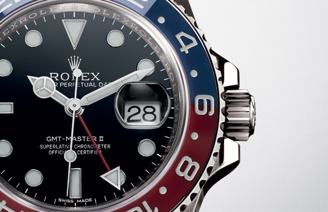 Rolex Oyster Perpetual GMT-Master 2 Pepsi or gris