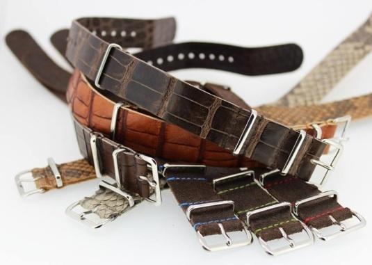 Deux manières de porter votre bracelet Nato