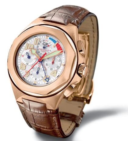 chronographe Laureato USA 98 en or rose