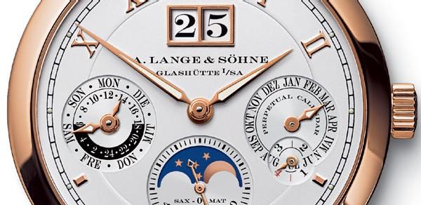 Lange et Söhne Langematik Perpétuelle : une nouvelle version toute en or