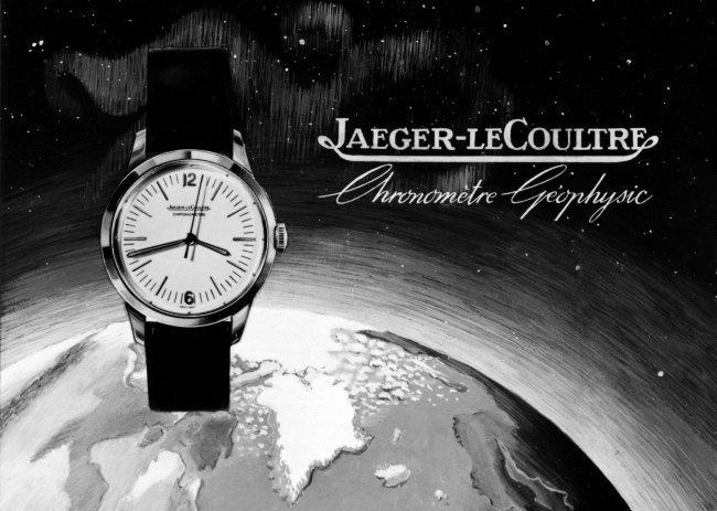 Publicité historique de la Geophysic JLC