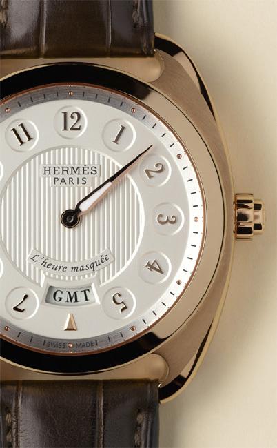 Hermès Dressage L'heure masquée : cache-cache watch