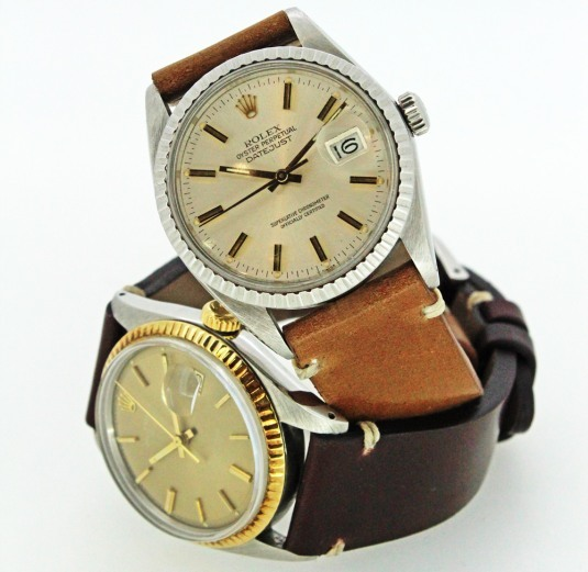 Bracelets en Cordovan de chez ABP