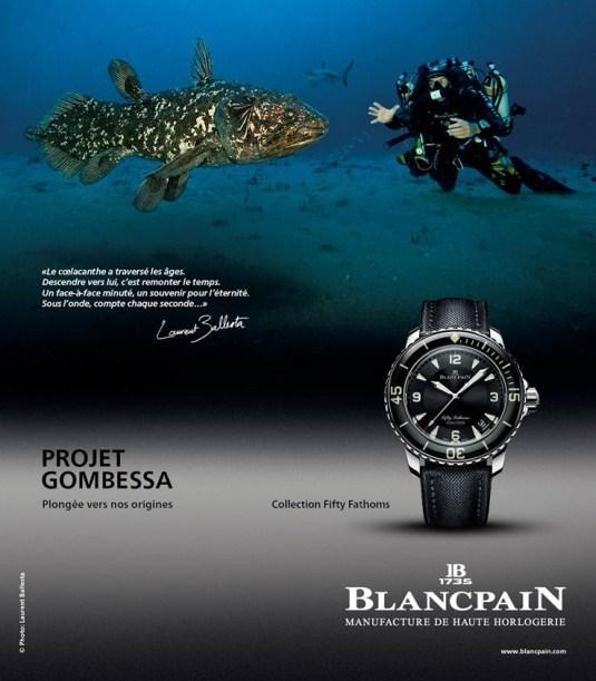 Blancpain et le coelacanthe sur Arte le 3 mai 2014 en prime-time