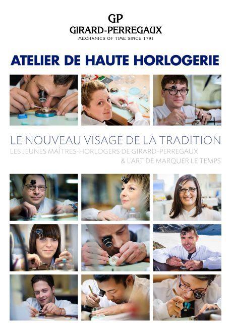 Girard-Perregaux : des ateliers horlogers grand public du 19 au 23 mai 2014 à Paris