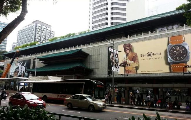 Bell & Ross sur Orchad road Singapour