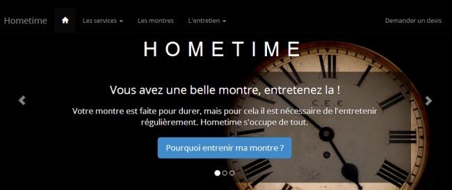Hometime : nouveau service horloger sur Paris