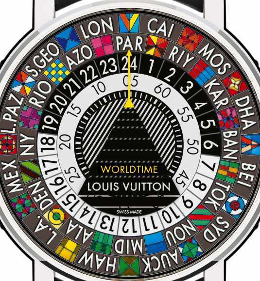 Louis Vuitton Escale Worldtime détail