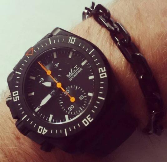 Montre MAT Watches et bracelet John Hardy