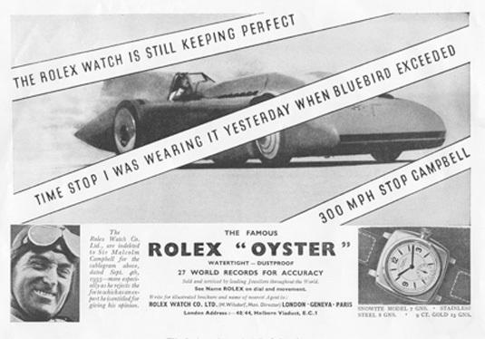 Rolex et les hommes les plus rapides au monde