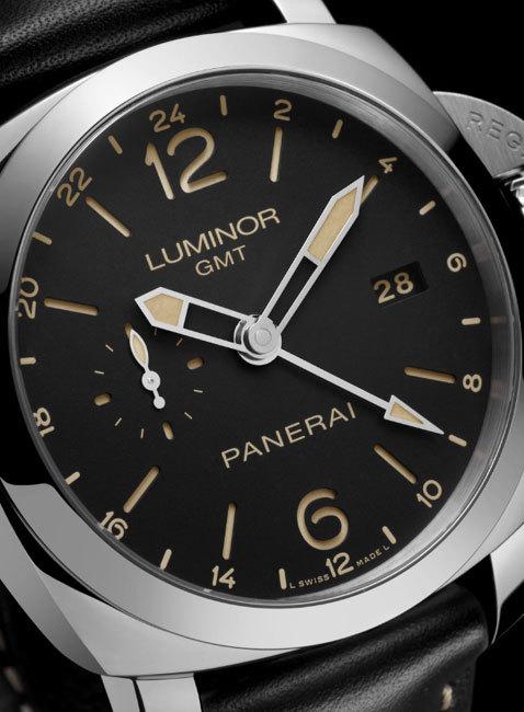 Officine Panerai Luminor 1950 GMT 24h Automatic Acciaio 6622917-9990902