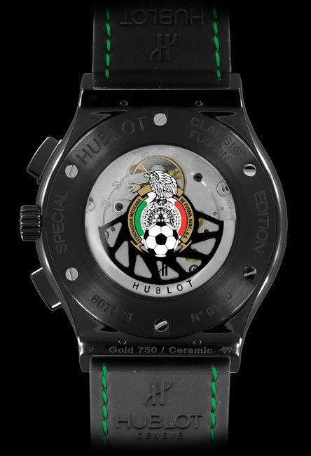 Hublot édition spéciale « Mexican Football Federation » : montre officielle de l'équipe nationale mexicaine