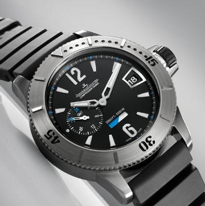Jaeger-LeCoultre Master Compressor Diving GMT : une demi-heure à 1080 mètres de profondeur