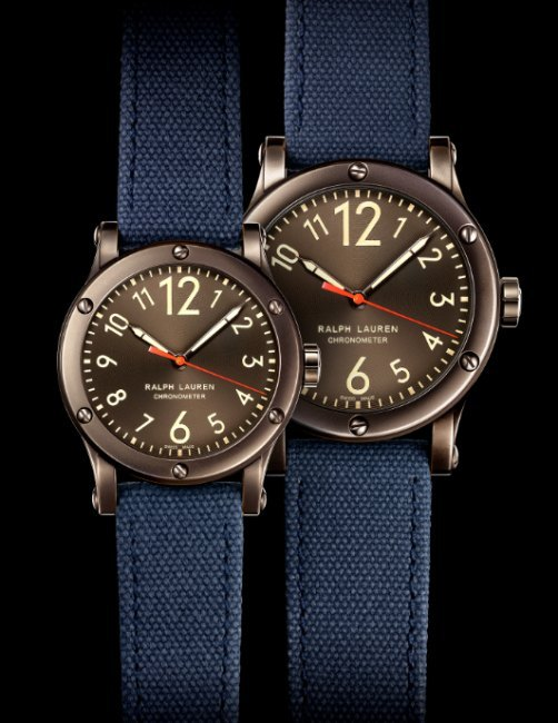 Ralph Lauren RL67 Safari 39mm Chronometer canvas