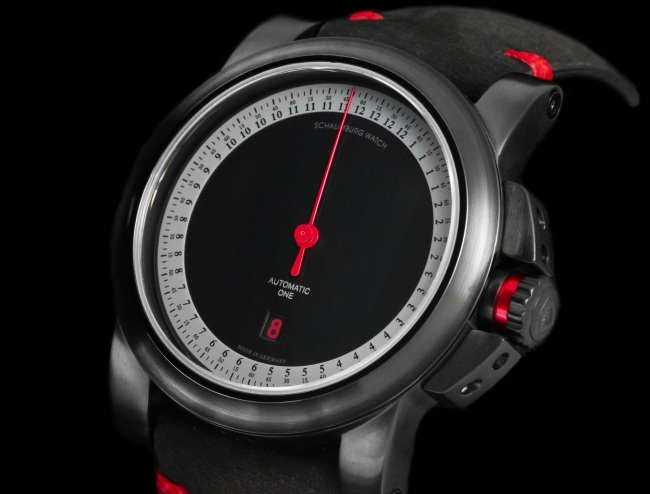 schaumburg watch gnomonik gt red cup sportive monoaiguille chez red army watches. Black Bedroom Furniture Sets. Home Design Ideas