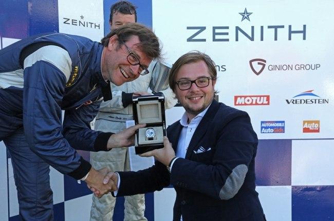 Zenith chronométreur de la 4ème édition du Spa Classic